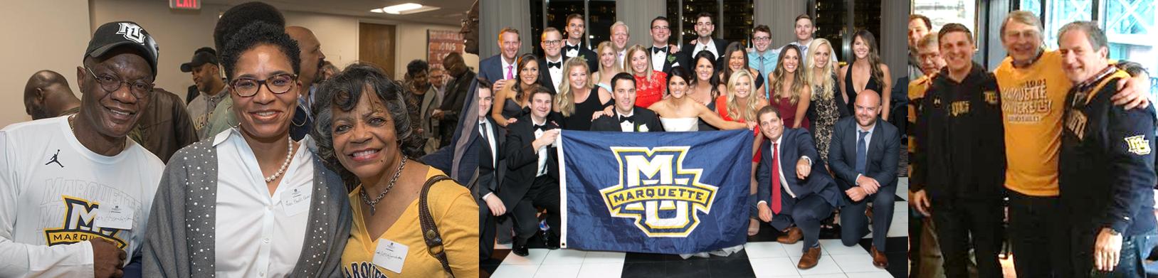 Collage of Marquette alumni