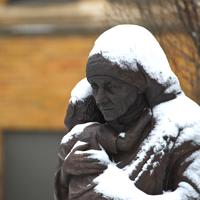 Mother Teresa sculpture
