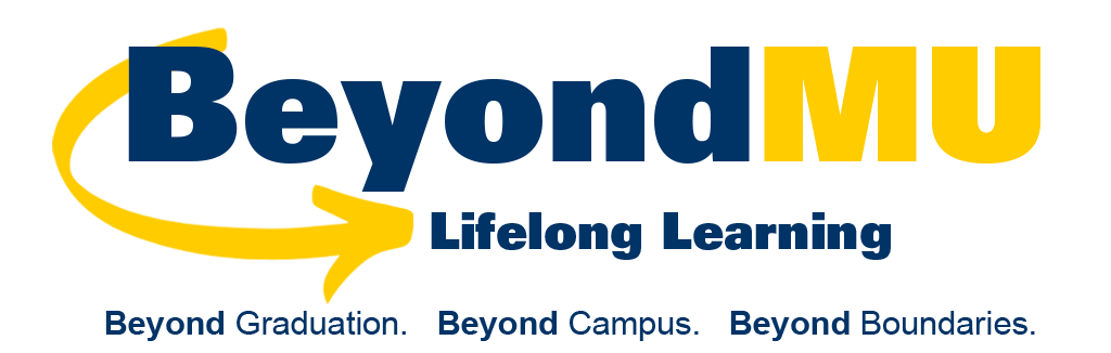 BeyondMU: Online Learning Experience Header