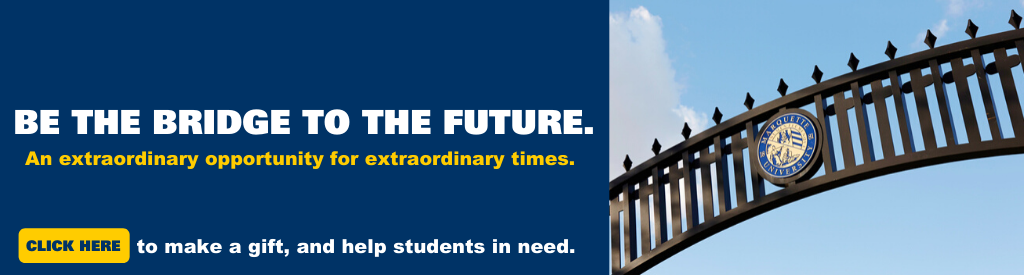 Make a gift to Bridge to the Future fund to help students facing unanticipated expenses