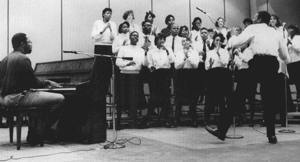 Guess the Year - A group performs with pianist in the AMU