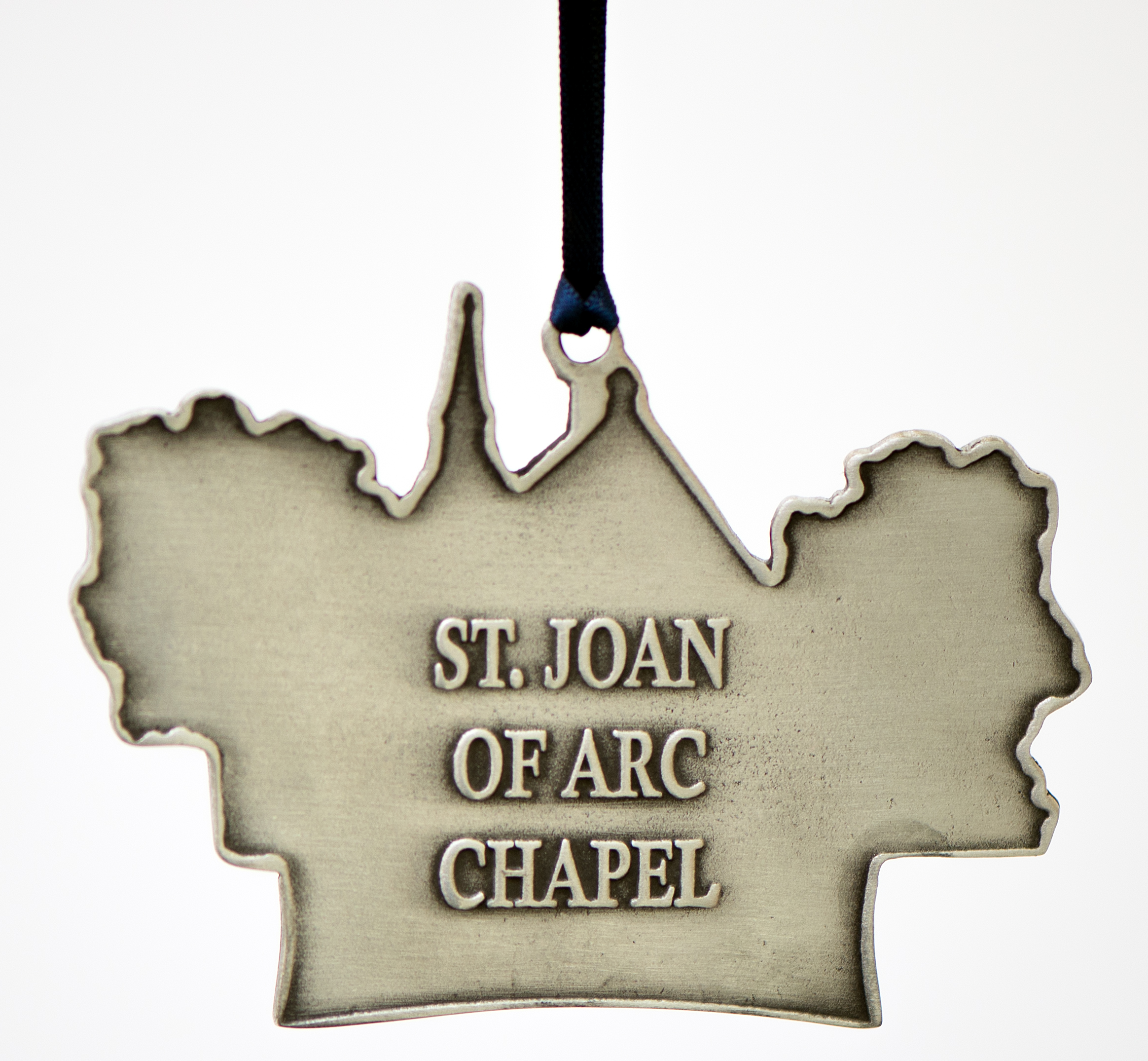 St. Joan of Arc Chapel Ornament Back