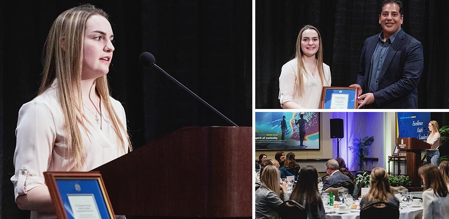 Rachel Bielfuss - Pedro Arrupe Award Recipient
