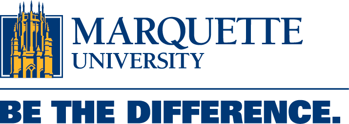Marquette University - Be the Difference Logo