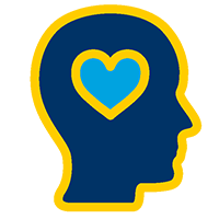 Interest-based Groups - Head with heart/love image