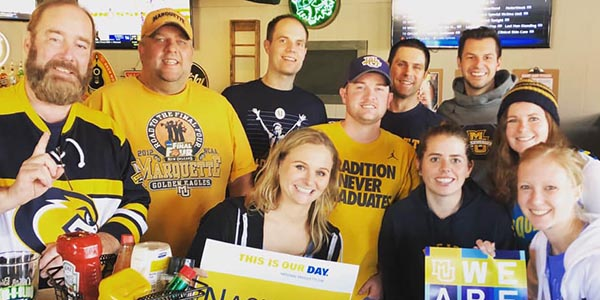 Marquette friends in Nashville celebrate National Marquette Day together