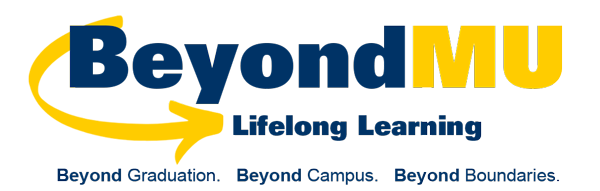 Beyond MU: Lifelong Learning Virtual Events Wordmark